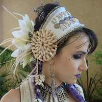Magpie Creations - unique handmade belly dance jewellery :  accessories faerie lovely tribal